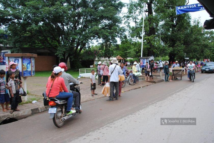 Ulica w Siem Reap