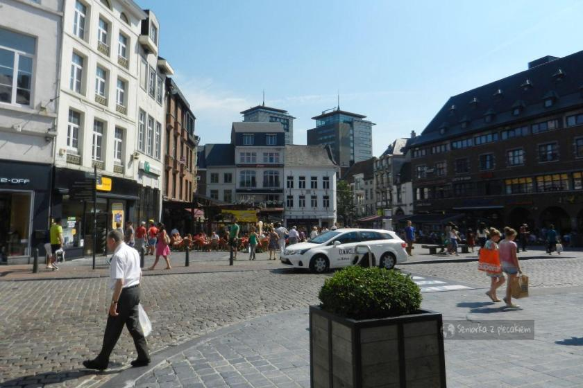 Rynek Grote Markt w Hasselt