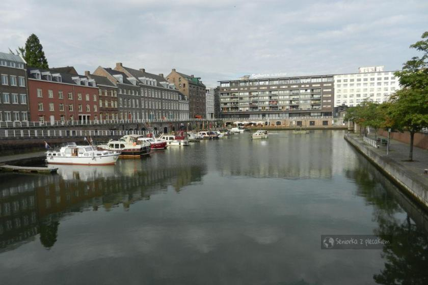 Port na kanale w Maastricht