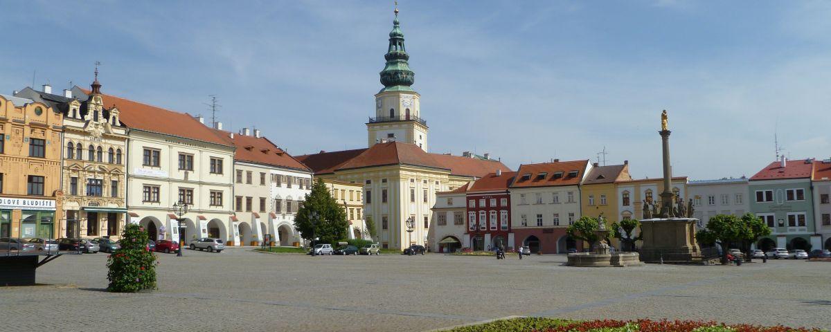 Czechy - Kromeriż - rynek