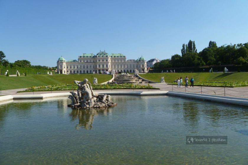 Belvedergarten w Wiedniu