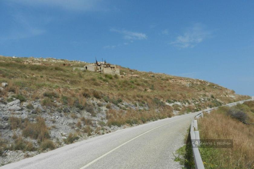 Pozostałość po kopalniach na Serifos