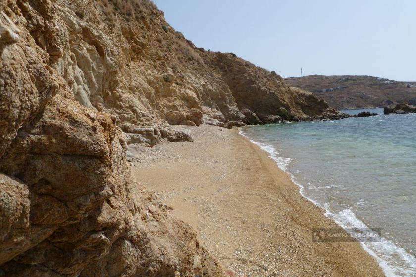 Plaża w Livadi na Serifos