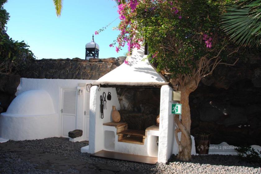 Lanzarote - dom Cesara Manrique - grill