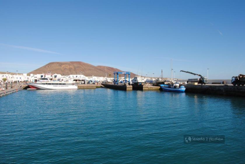 La Graciosa - port