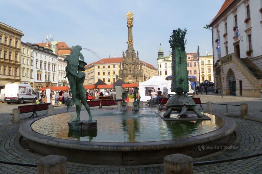 Ołomuniec - Górny Rynek - Fontanna Ariona