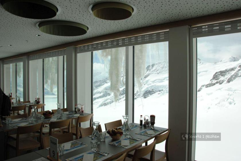 Jungfraujoch w Szwajcarii