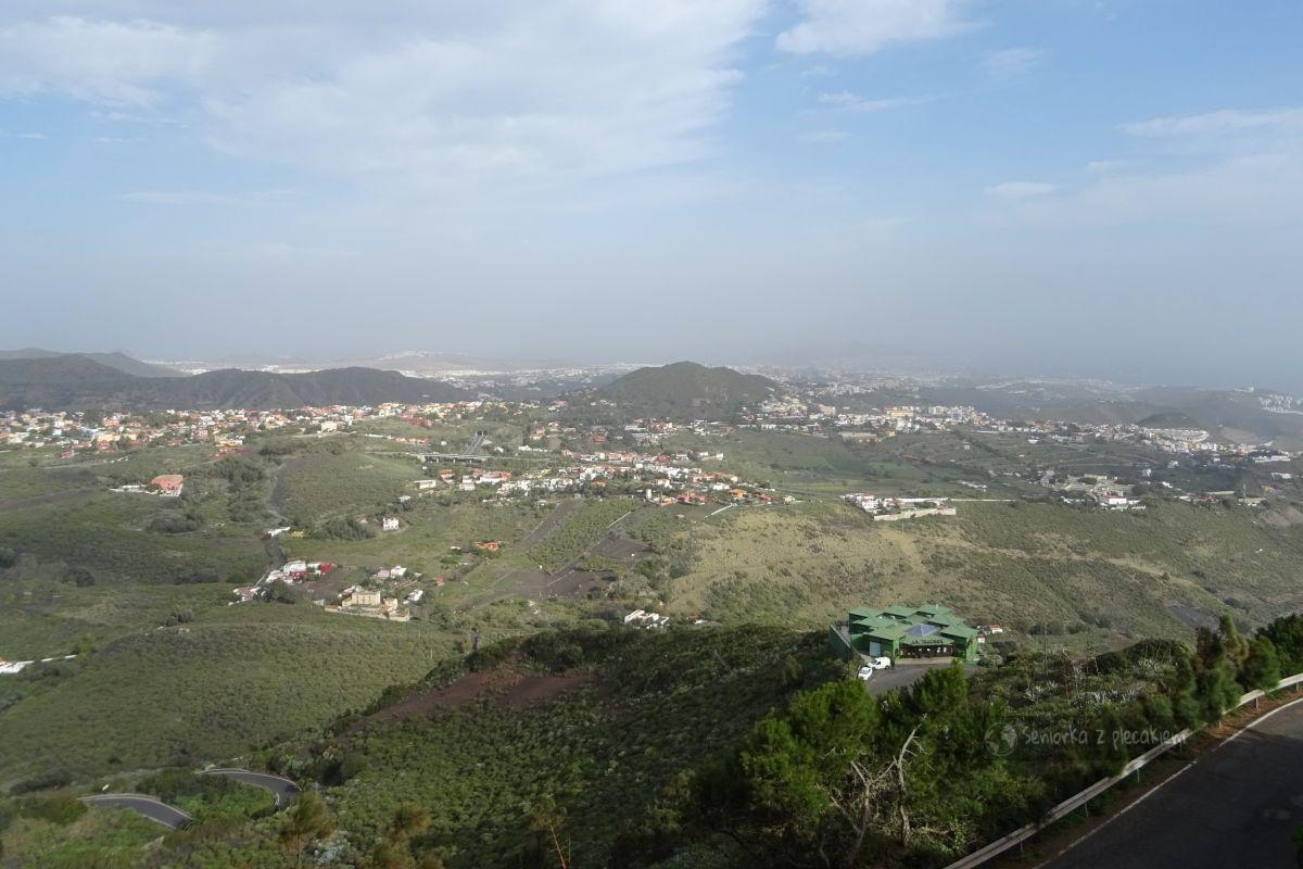 Widok z Pico Bandama