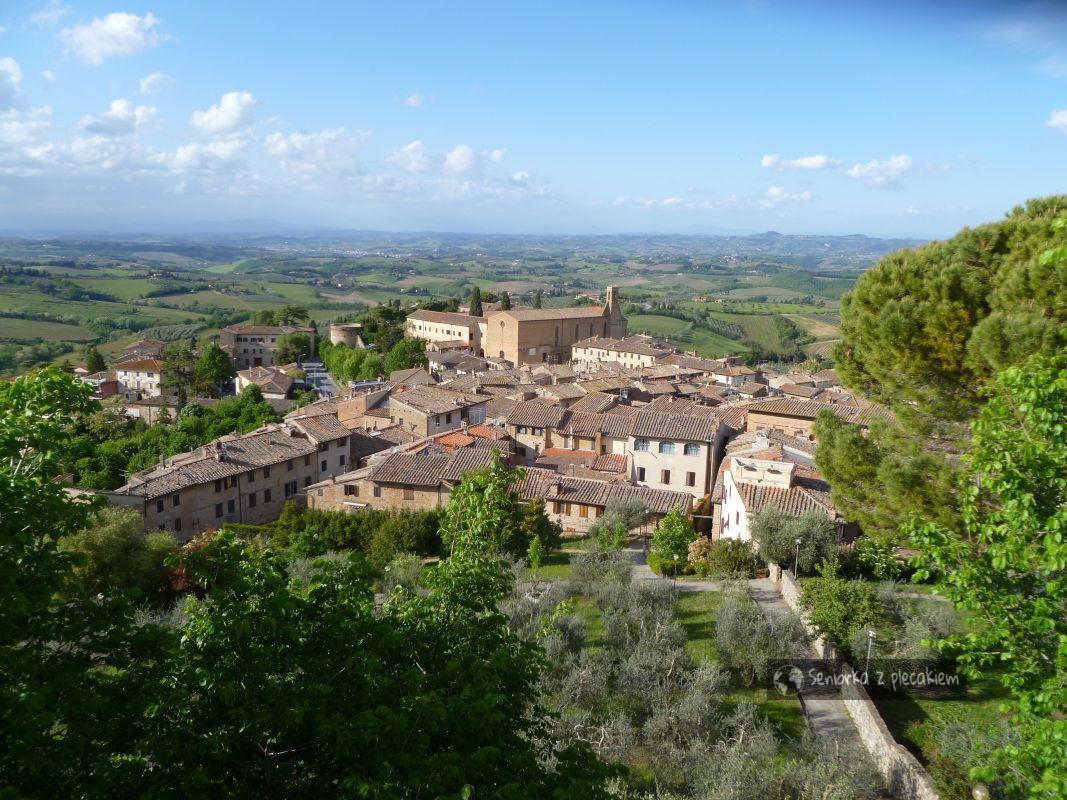 Toskania, San Gimignano