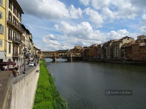 Zabytkowy most we Florencji