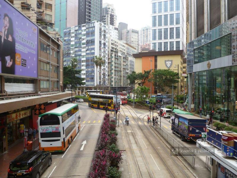 Hong Kong: centrum, The Peak i ruchome schody