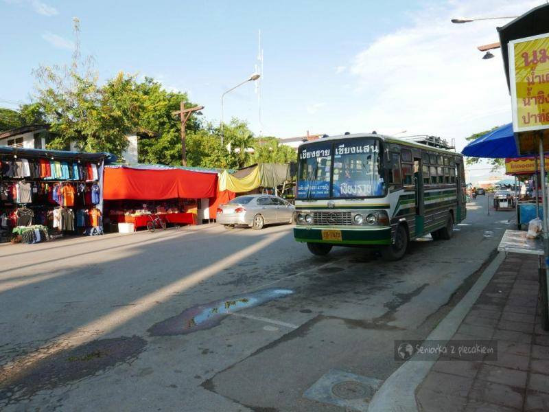 Jak jechałam do Chiang Mai