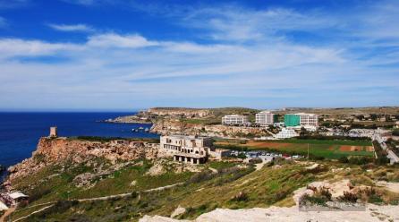 Plaże i klify Malty
