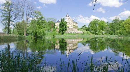 Pałac Raduń i Arboretum Novy Dvur. Czechy