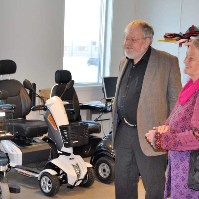 Seniorsaken Vestfold hos NAV hjelpemiddelsentralen