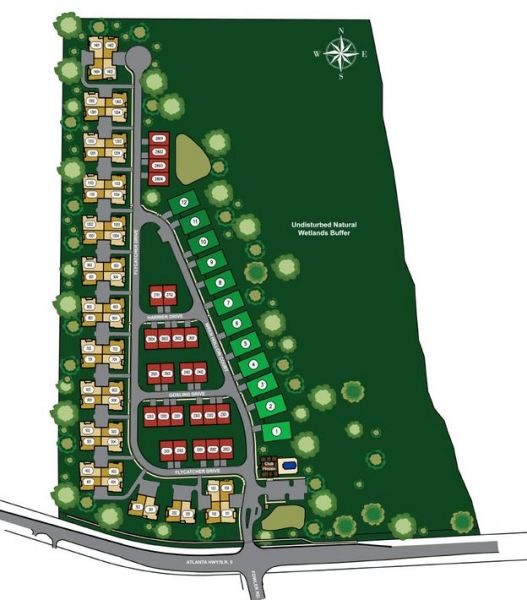The Orchards Of Big Creek Site Plan