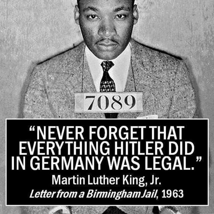 king on hitler quote