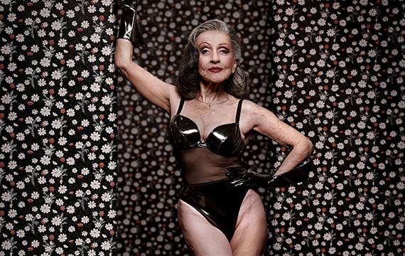 you're never too old to pose as a pin-up | senior planet