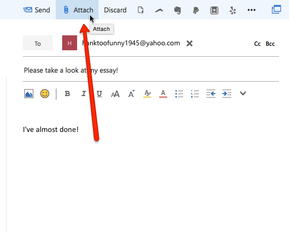 how to send pictures via outlook