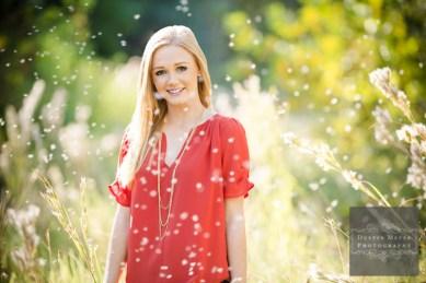 Best senior portrait ever blond female blue eyes smile outdoors sunlight sunshine Sunflare tallgrass flurries super cute senior portraits ideas
