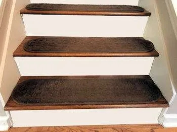 Are Stair Treads Safe What Stair Tread You Need | Individual Stair Carpet Treads | Non Slip Stair Runner | Flooring | Slip Resistant | Anti Slip | Beige