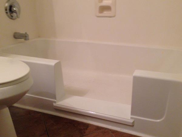 EZ Step Tub To Shower Conversion Senior SAFETYPro