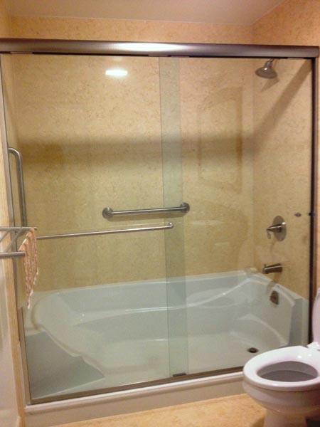 Elegance Series Shower Door Upgrade Senior SAFETYPro