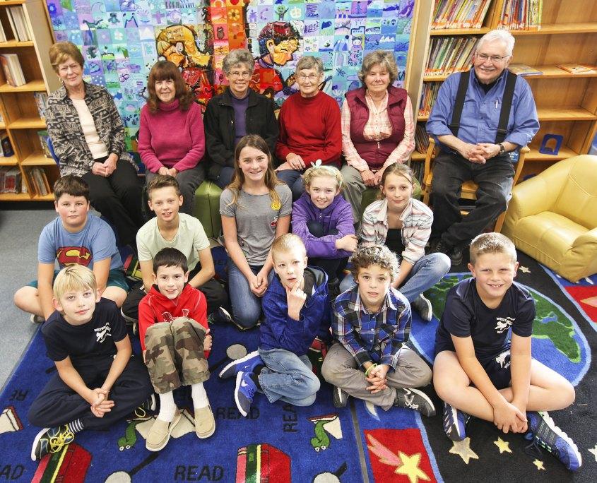 seniors for kids AB group