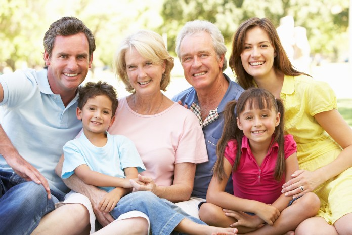 senior's family