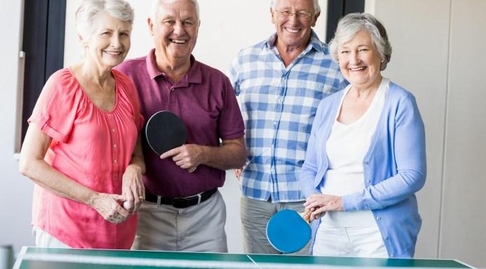 senior living indoors