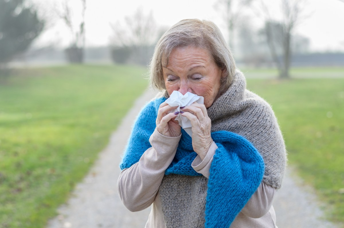 Cold and Flu Prevention in Seniors