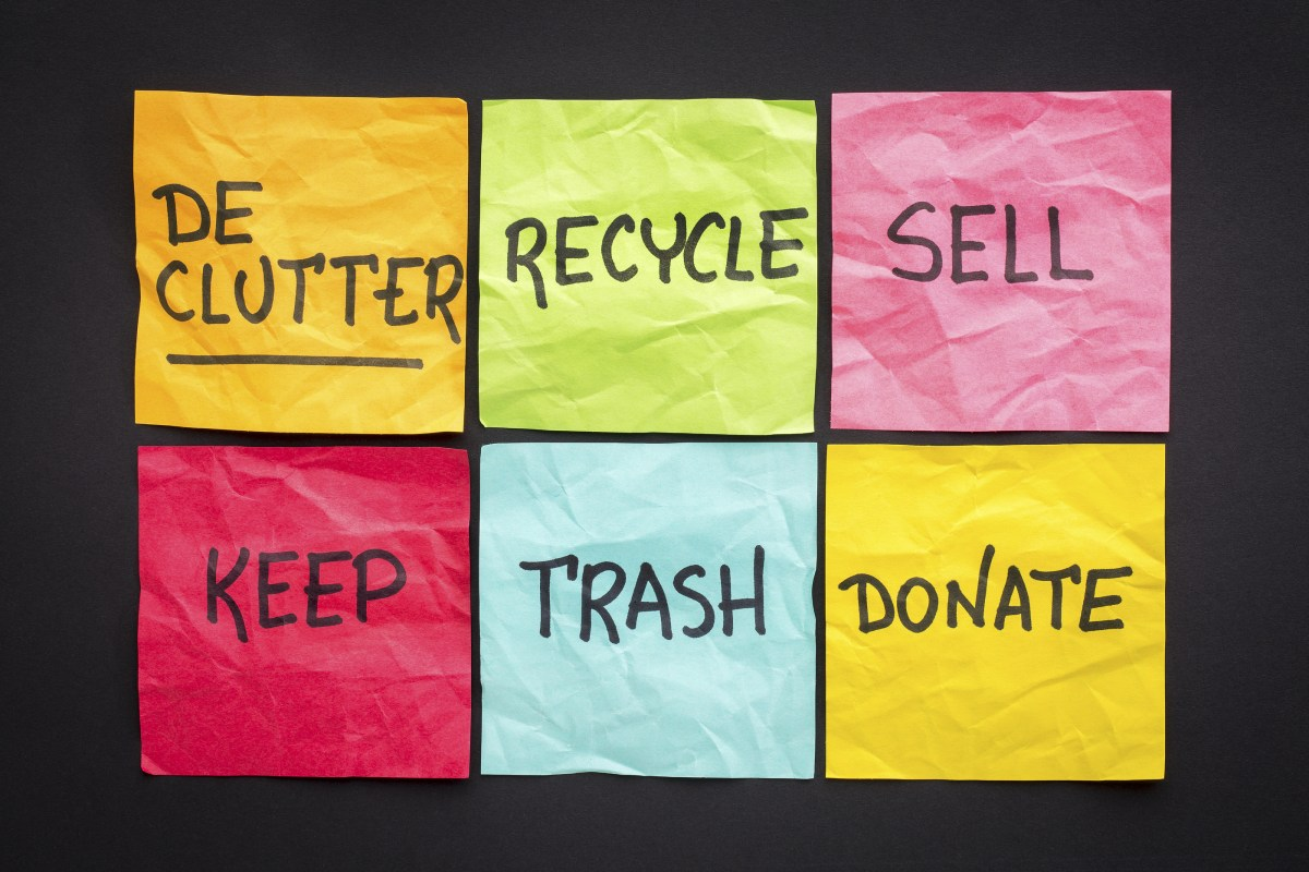 Fall Declutter and Organization