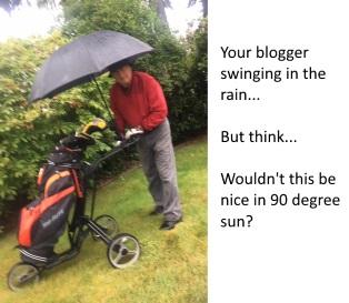 rainy day golf