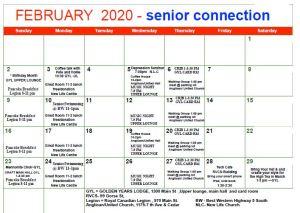 Valemount Senior's Activities