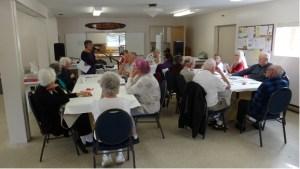 Passmore seniors group