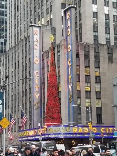 Radio City Music Hall Marquee