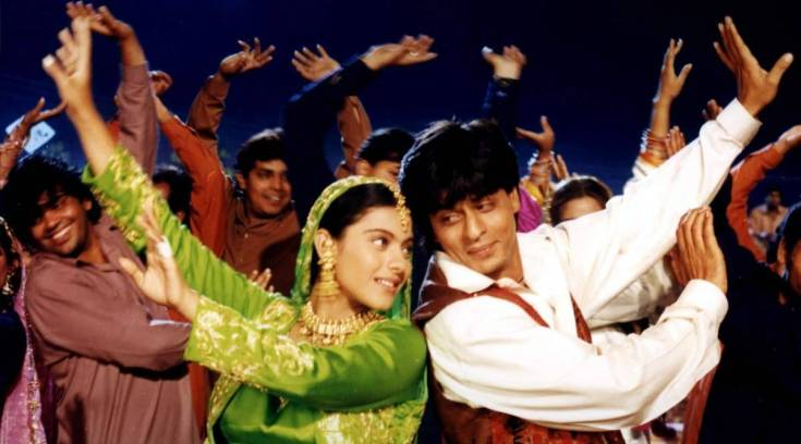The biggest 1990s duo was Shah Rukh Khan and Kajol