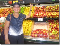 "Carolyn by the ""Smitten"" apples which are terrific"