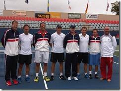 USA Men's Trabert Cup Team beat NZ to Advance to Final