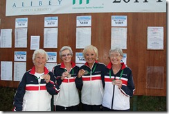 Hart Cup holding up medals