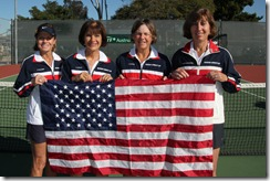 Barker, Wright, Nichols, Murveit, USA Connolly Cup team 2012