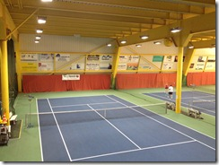 Indoor Tennis Courts, Davos