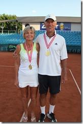Jan & Bruce, 65  mixed champions