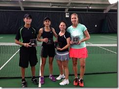40 indoor doubles final 2014
