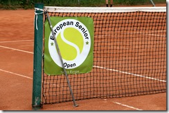 This was the singles stick location during the men's 40 final...which had a chair umpire!