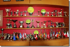 Estadio Espanol trophies