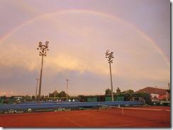 Rainbow over center ct-001
