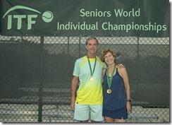 Nov 10, 2017; Miami, FL, USA; Patricia Medrado (BRA) and Pierre Godfroid (BEL) XD60