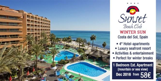 Sunset Beach Club Hotel For Your Winter Sun Break