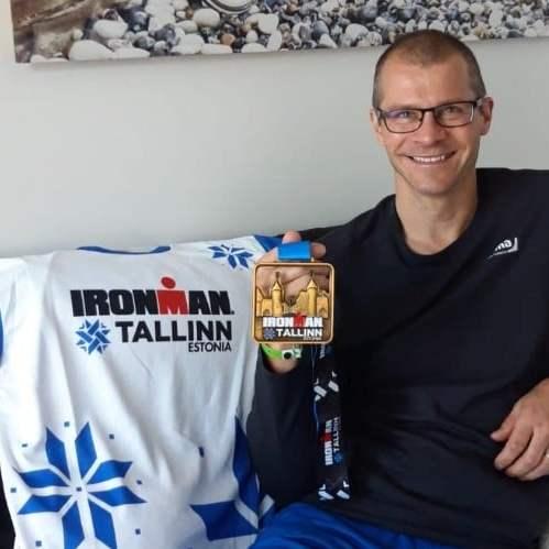 Juha Makitalo's birthday present was an Ironman triathlon